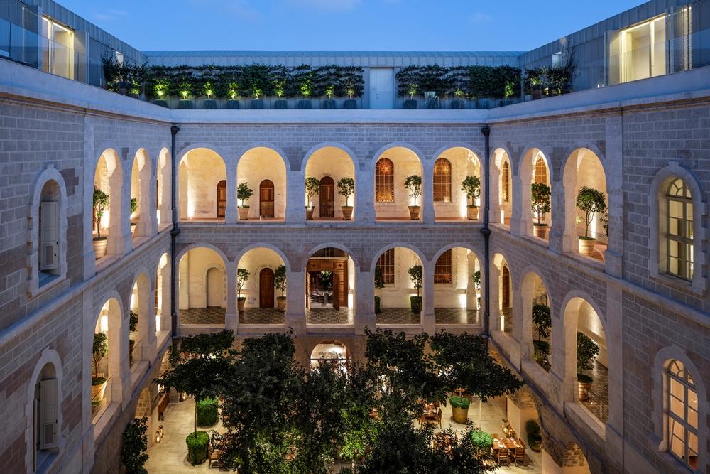 外觀/The Jaffa/設計旅館/拱形設計城堡/中世紀堡壘/地中海/以色列