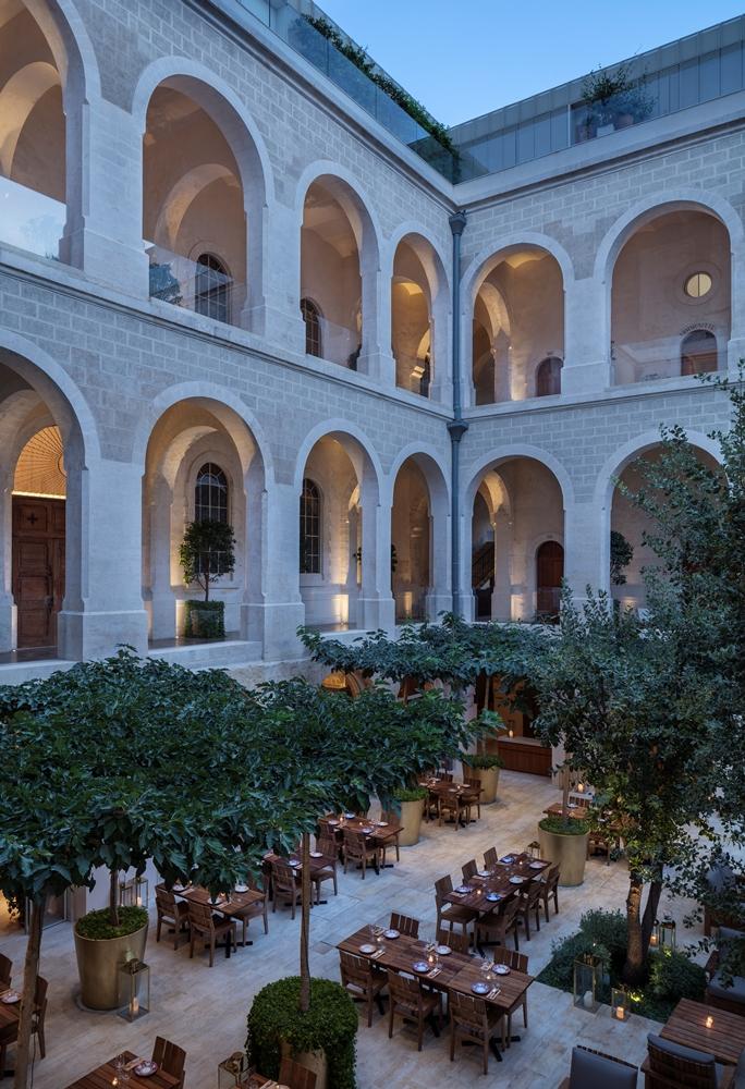 餐廳/The Jaffa/設計旅館/拱形設計城堡/中世紀堡壘/地中海/以色列