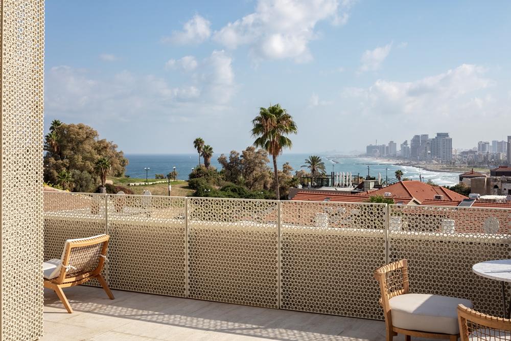 陽台/The Jaffa/設計旅館/拱形設計城堡/中世紀堡壘/地中海/以色列