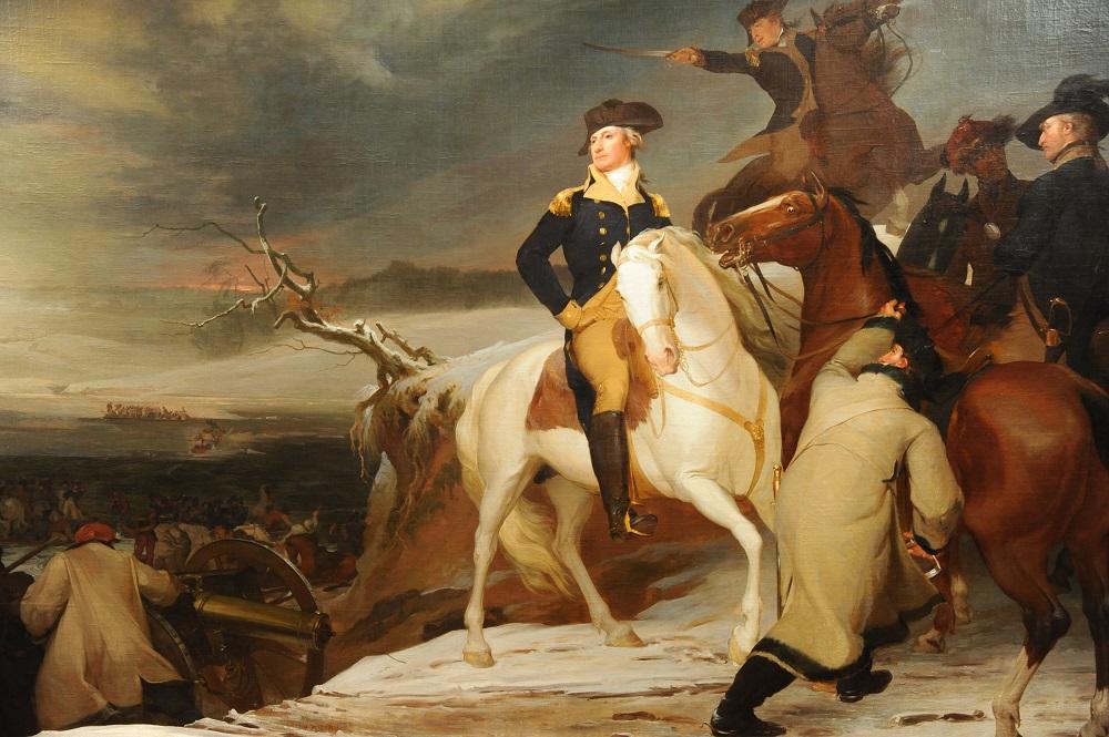 美洲藝術區/Thomas Sully/行經德拉瓦/華盛頓將軍/波士頓美術館