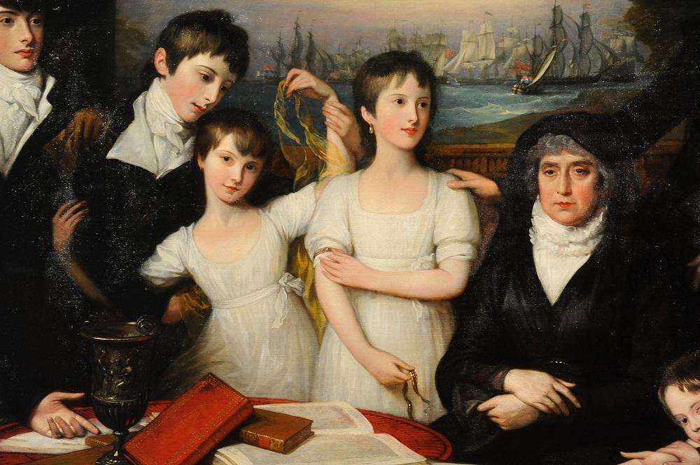 美洲藝術區/Thomas Sully/肖像畫/波士頓美術館/美國