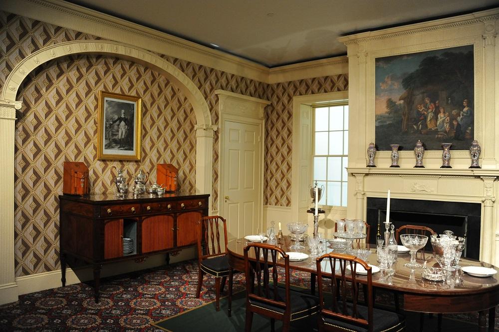 美洲藝術區/橡木丘廳 Oak Hill Rooms/波士頓美術館/美國