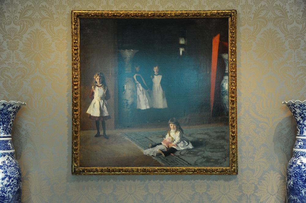 美洲藝術區/沙金特 Sargent/柏伊特的女兒們/波士頓美術館/美國