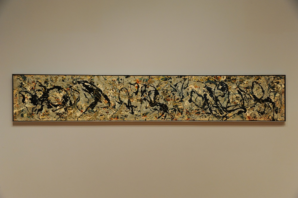 美洲藝術區/波洛克 Pollock/1949年‧10號/波士頓美術館/美國