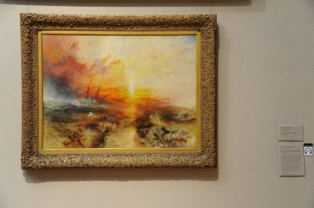 波士頓美術館/透納 Turner/奴隸船 Slave Ship/光線畫家