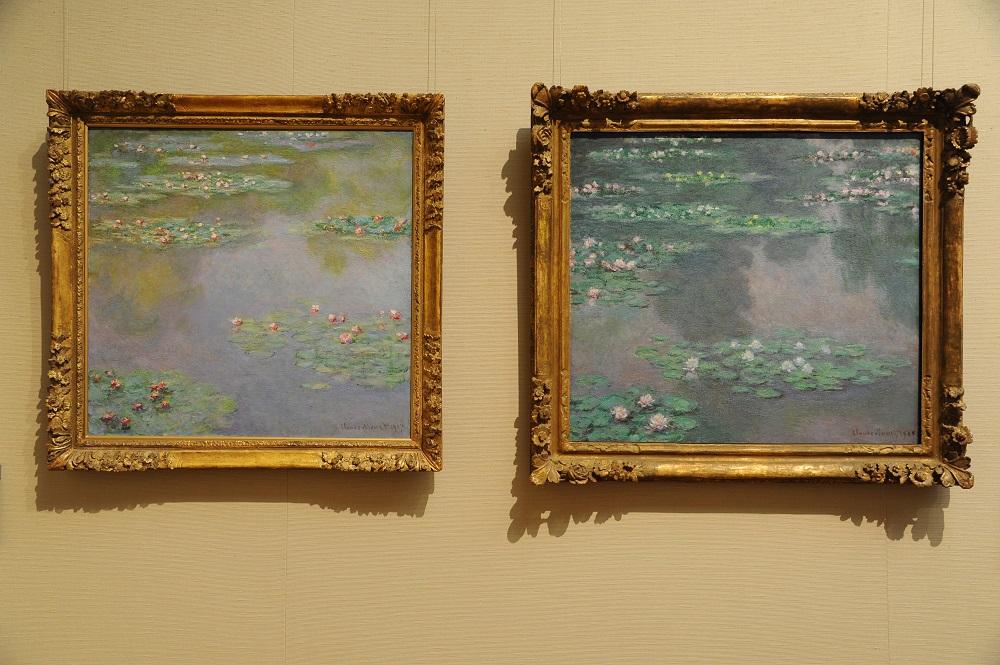波士頓美術館/莫內 Monet/睡蓮 Water Lilies/印象派大師