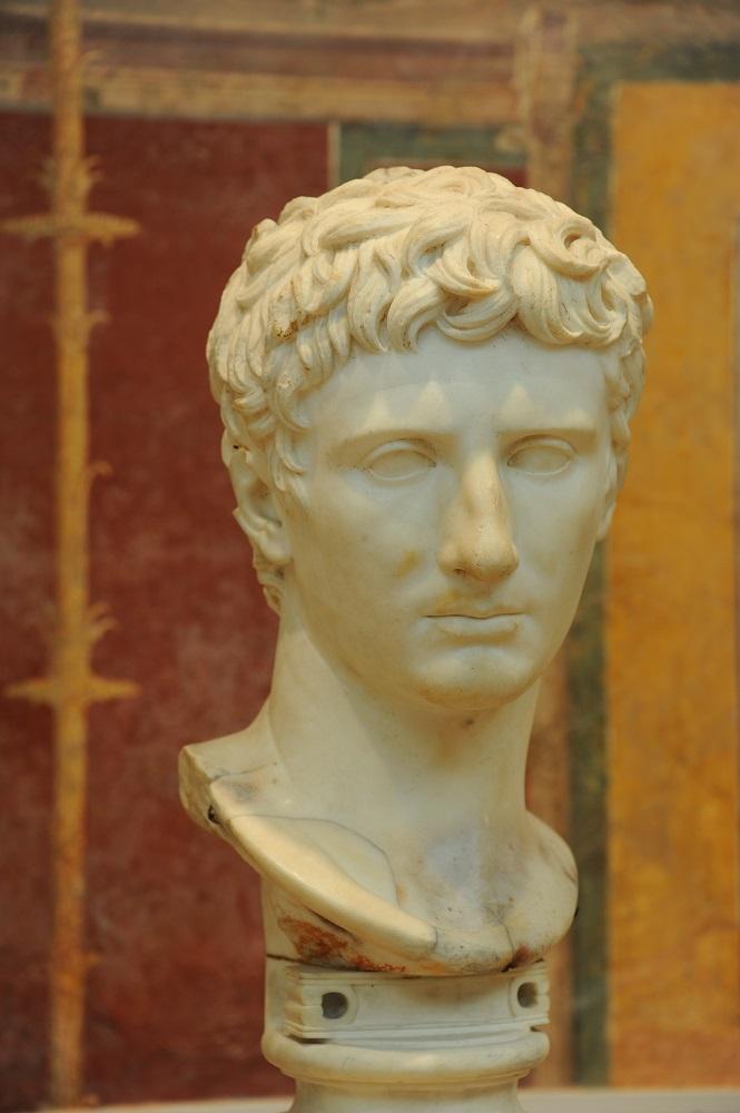 波士頓美術館/奧古斯都皇帝半身像/希臘藝術/雕像