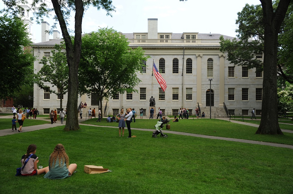 哈佛大學/波士頓/世界一流大學/哈佛一日遊/哈佛庭院