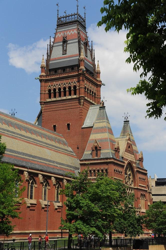 哈佛大學/波士頓/世界一流大學/哈佛一日遊/紀念廳