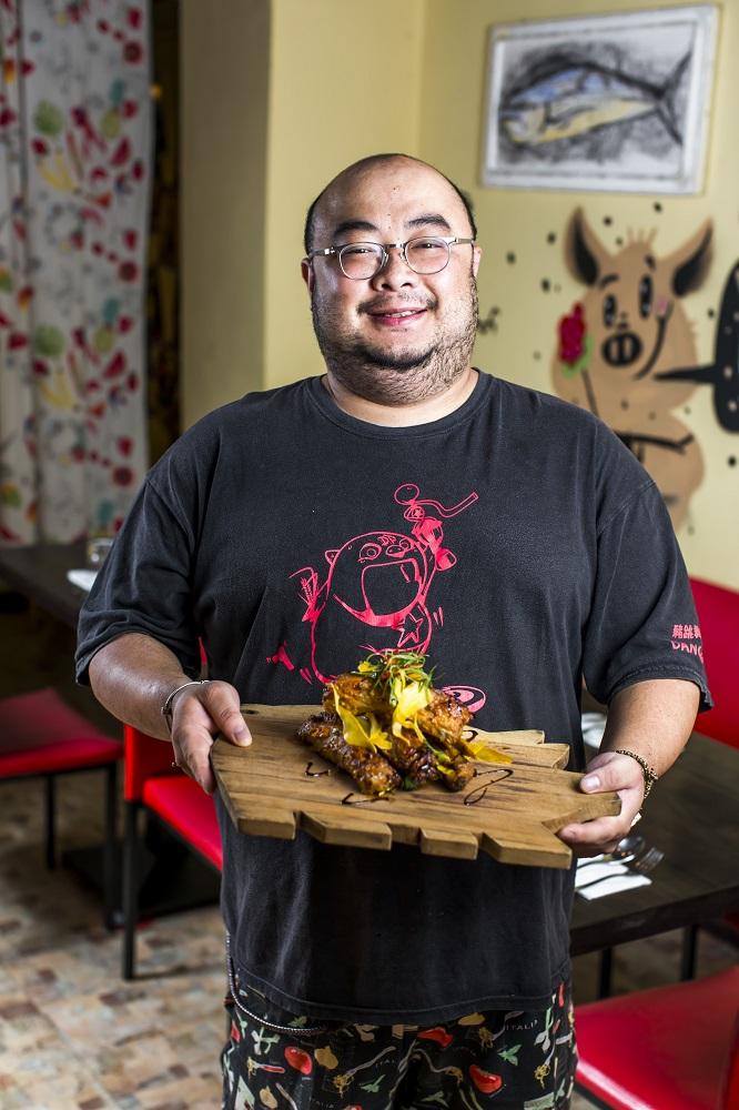 豬跳舞Dancing Pig/義式餐廳/台北/大安區美食/豬肋排