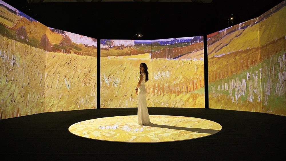 再見梵谷-光影體驗展/梵谷/台北新光三越/沉浸式藝術投影