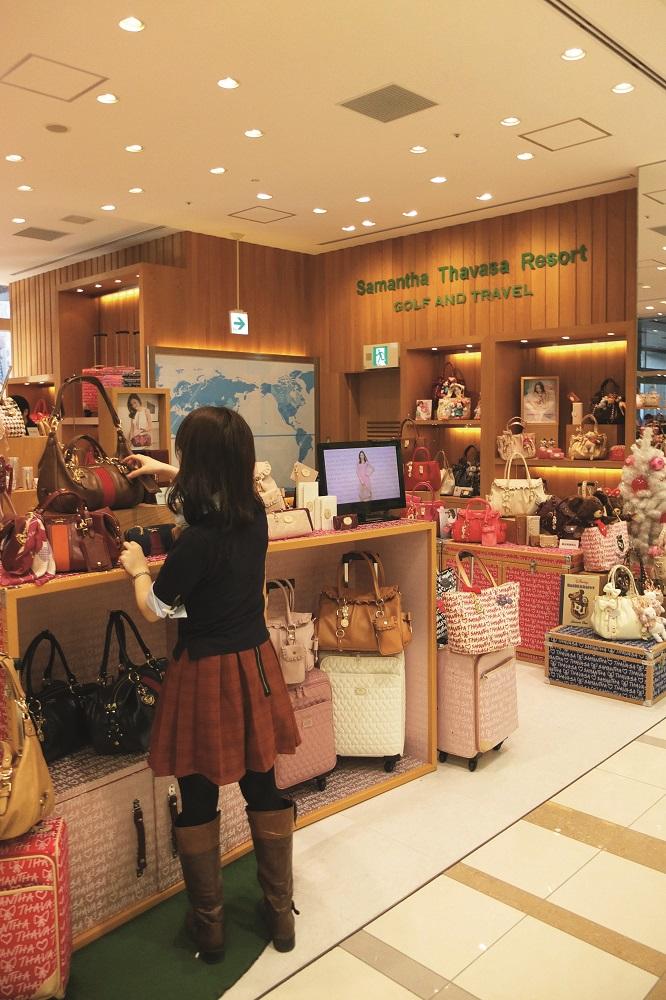 日本自由行/福岡/AMU PLAZA博多/Samantha Thavasa Resort