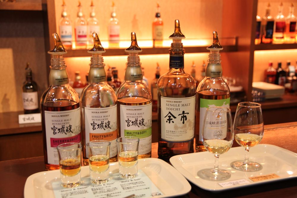 日本東北/宮城峽/NIKKA WHISKY/威士忌/宮城仙台