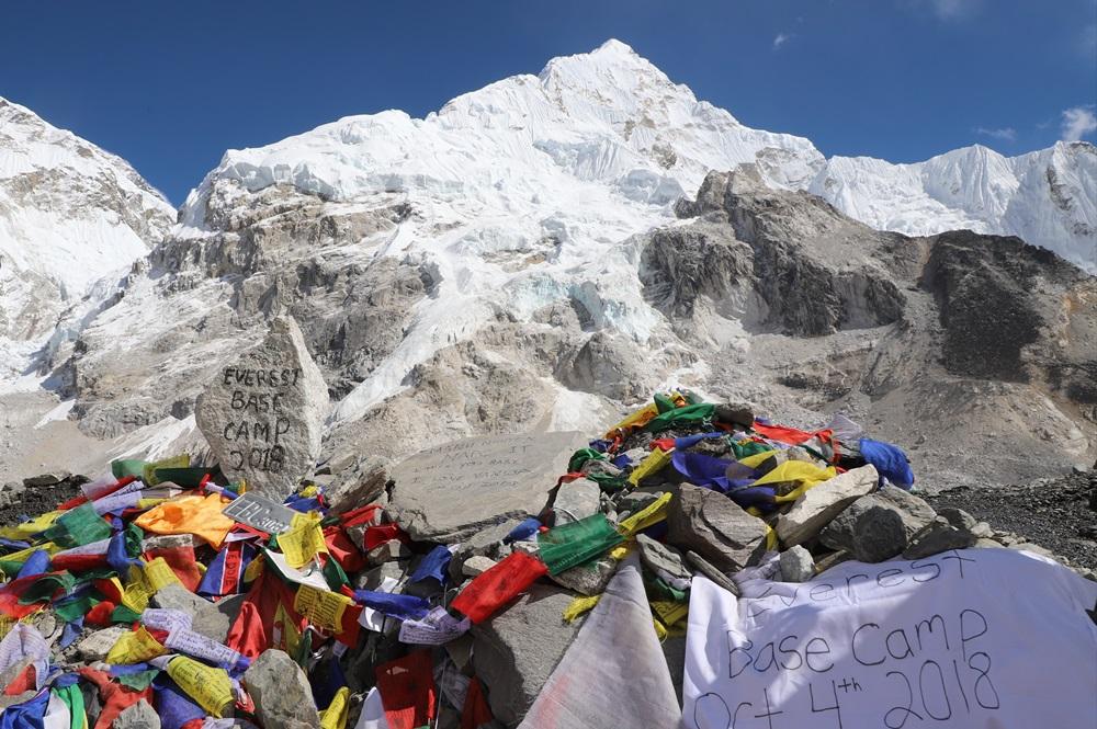 Everst Base Camp/尼泊爾/聖母峰基地營/旅遊/健行/登山