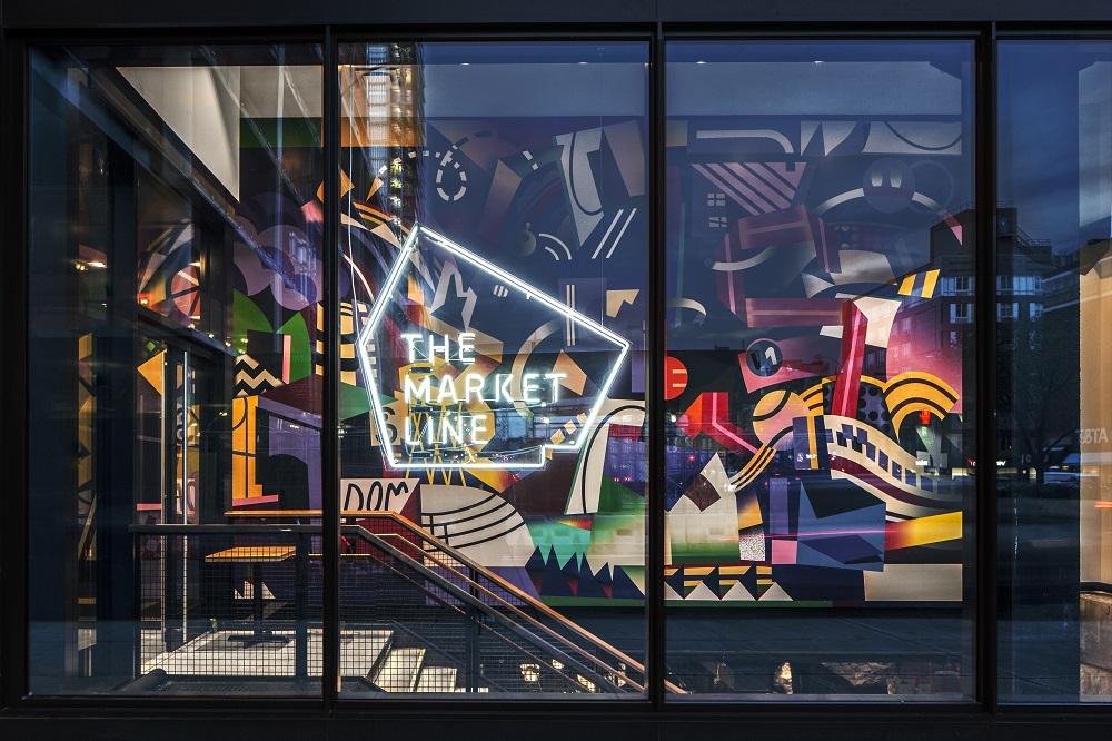 The Market Line/紐約下東城區/紐約美食/紐約必吃/繽紛壁畫