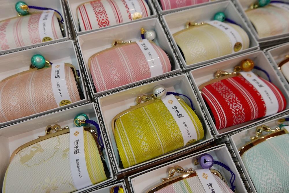 日本/福岡/博多/博多傳統工藝館/博多織/錢包