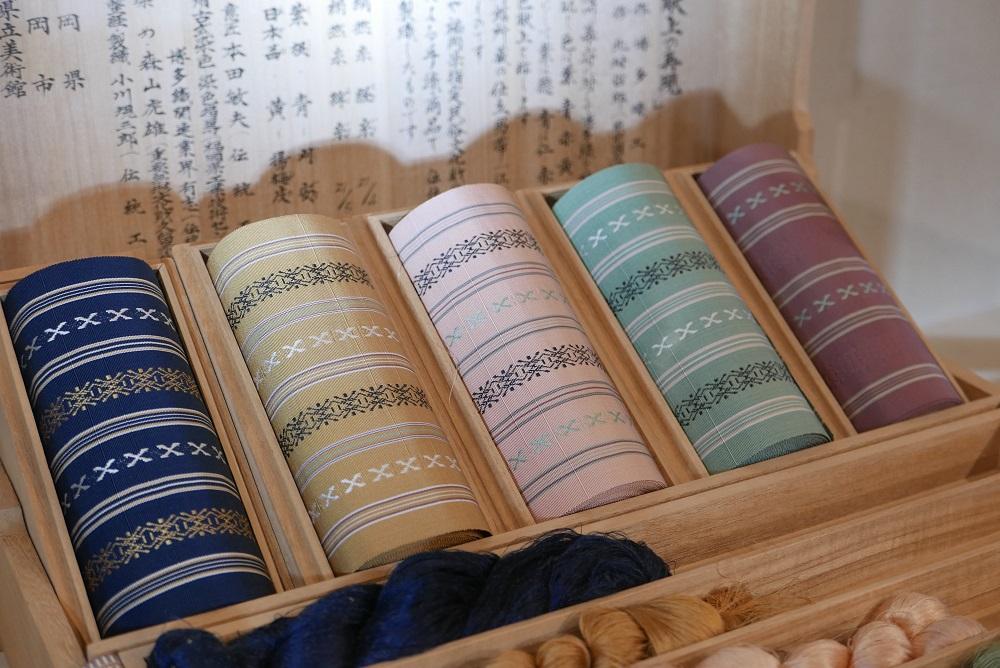 日本/福岡/博多/博多傳統工藝館/博多織