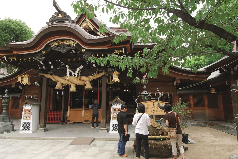 日本/福岡/博多/山笠/櫛田神社