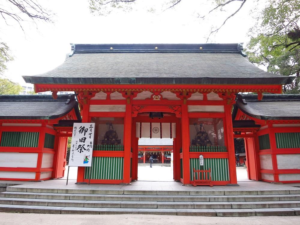 日本/福岡/博多/住吉神社/日本媽祖