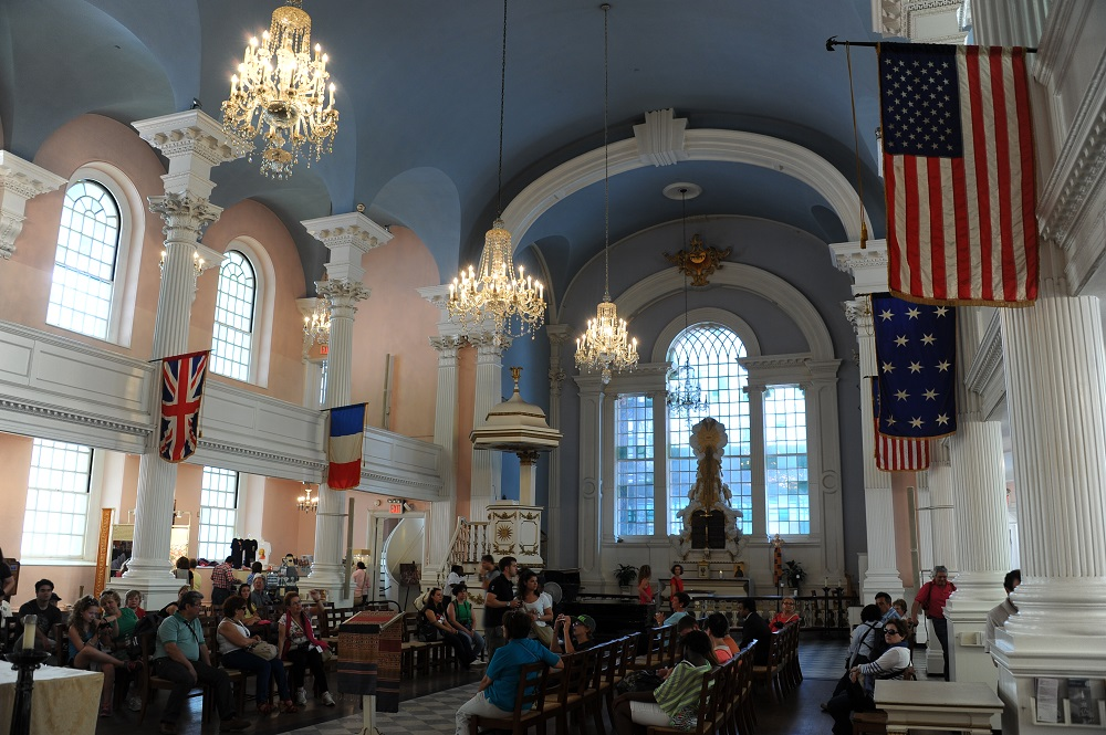 曼哈頓/紐約/美國/911事件/聖保羅禮拜堂