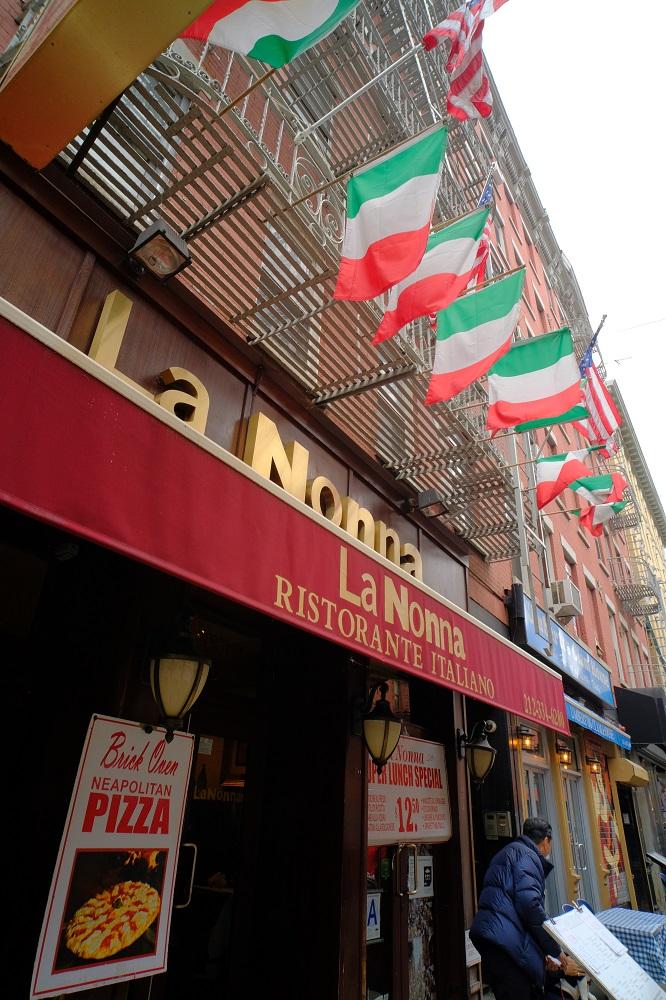 曼哈頓/紐約/美國/小義大利/義式披薩
