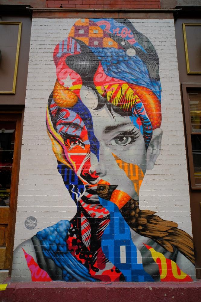 曼哈頓/紐約/美國/小義大利/街頭塗鴉
