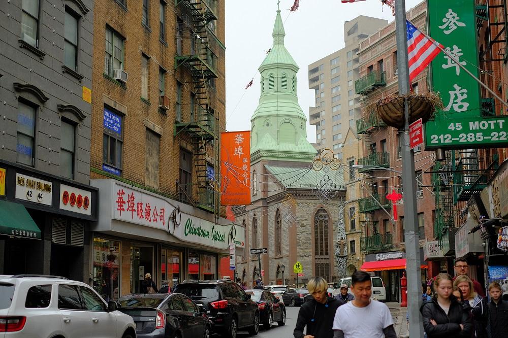 曼哈頓/紐約/美國/中國城