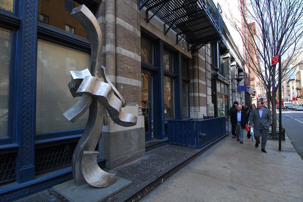 曼哈頓/紐約/美國/蘇活區/公共藝術