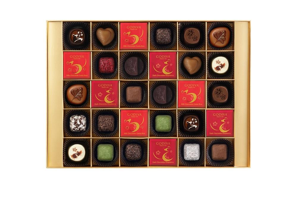 GODIVA/2020 新年限量巧克力系列/新年巧克力珠寶禮盒