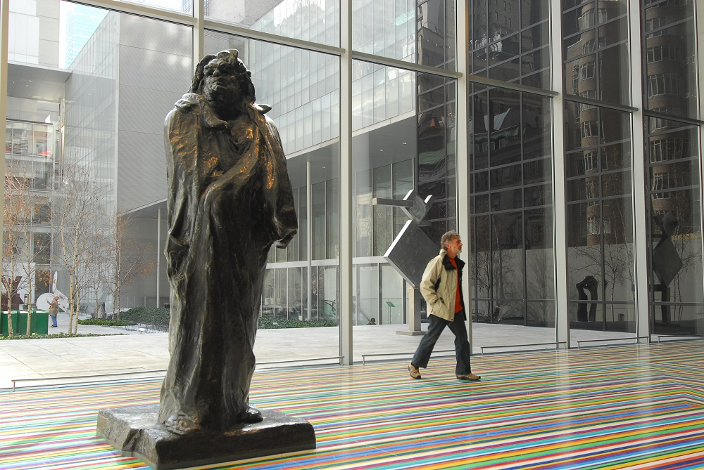 曼哈頓/紐約/美國/現代美術館/雕像