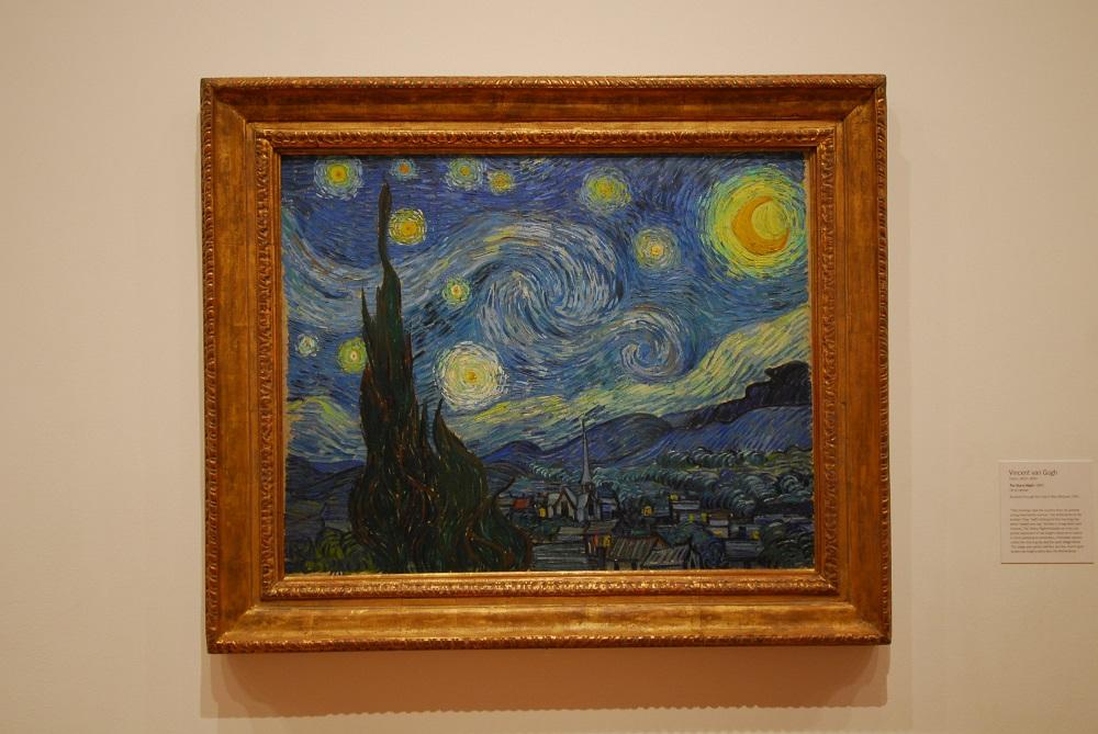 曼哈頓/紐約/美國/現代美術館/梵谷/星夜