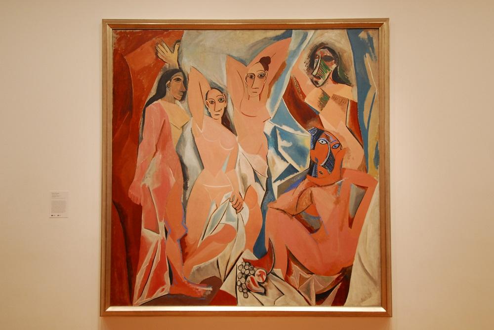 曼哈頓/紐約/美國/現代美術館/畢卡索/亞維儂姑娘