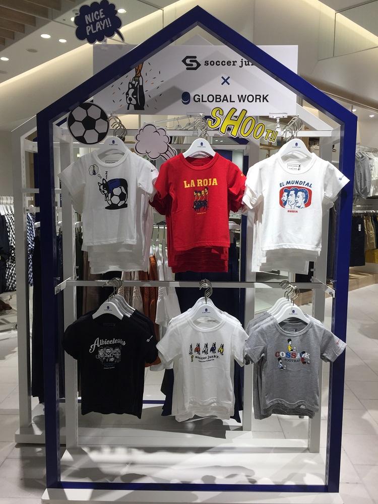 日本/福岡/博多運河城/GLOBAL WORK/童裝