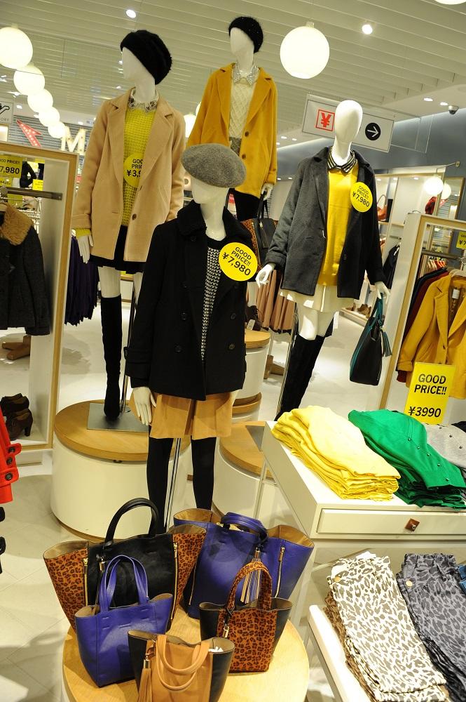 日本/福岡/博多運河城/GLOBAL WORK/流行女裝
