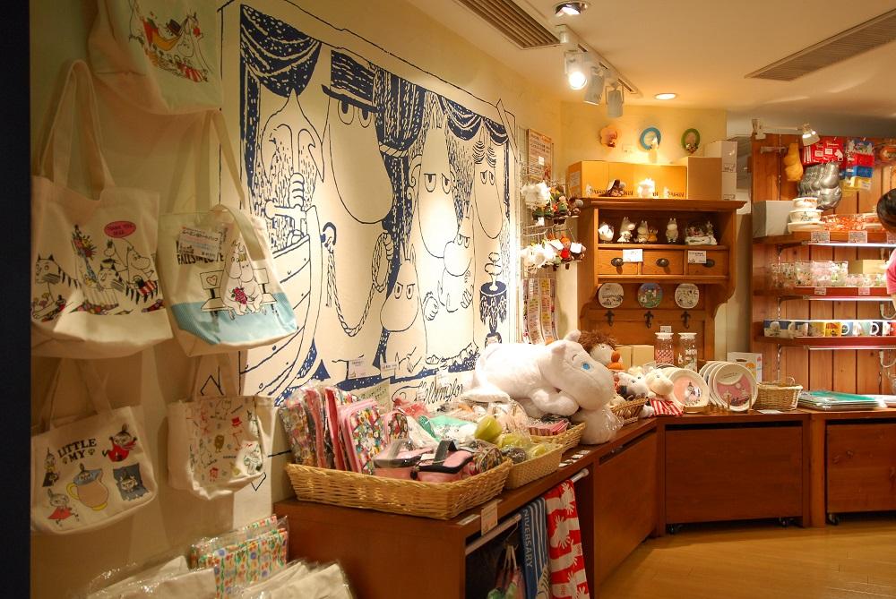 日本/福岡/博多運河城/moomin Bakery & Café/嚕嚕米/姆明