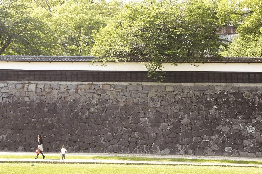 日本自由行/九州/熊本城/長塀