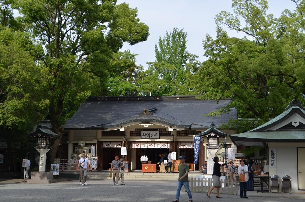 日本自由行/九州/熊本城/加藤神社/加藤清正