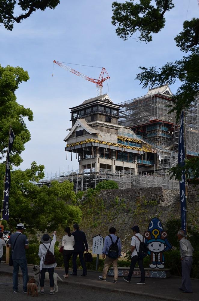 日本自由行/九州/熊本城修復/加藤神社/加藤清正