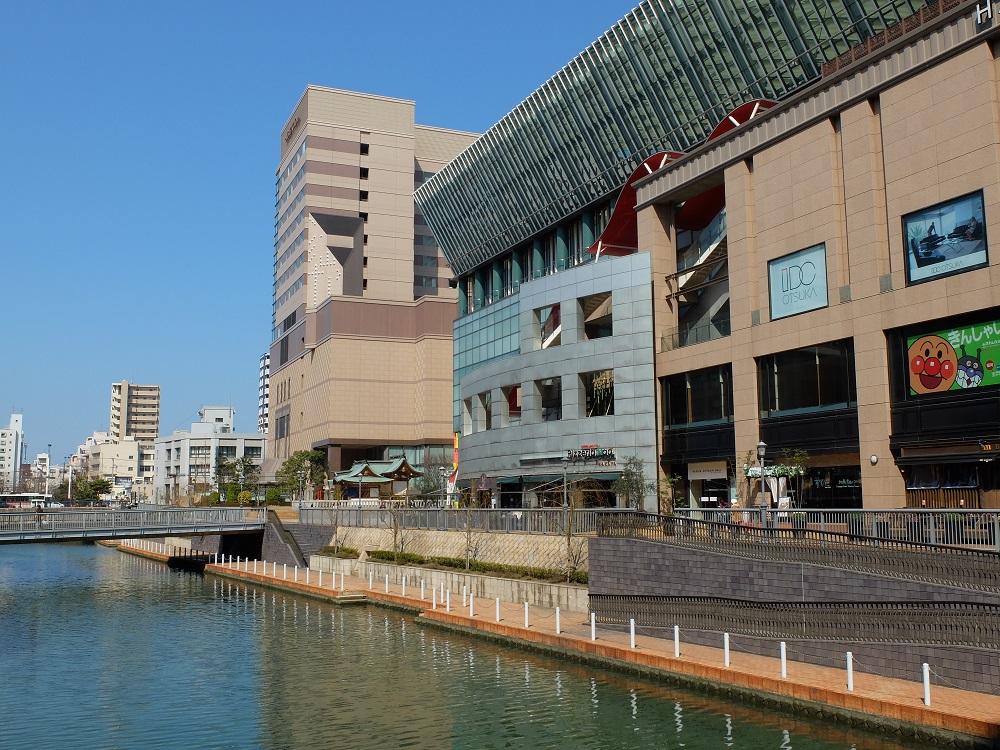 博多河岸城/福岡自由行/九州/日本