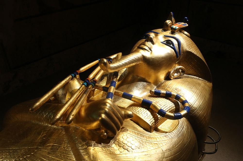 圖坦卡門—法老王的黃金寶藏特展/古埃及文明/黄金人形棺