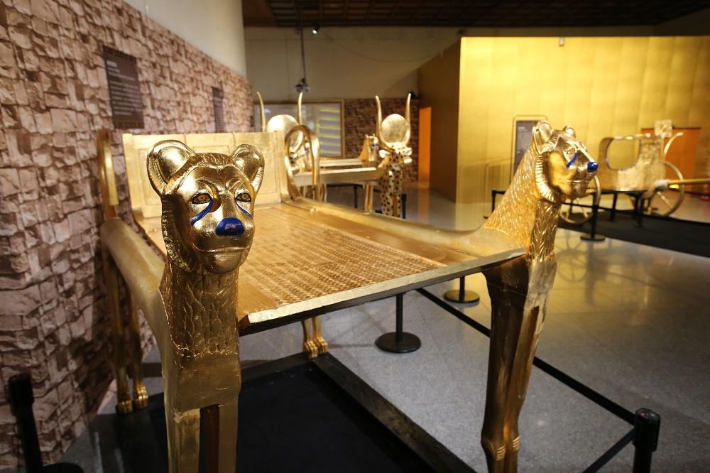 圖坦卡門—法老王的黃金寶藏特展/古埃及文明/戰鬥馬車