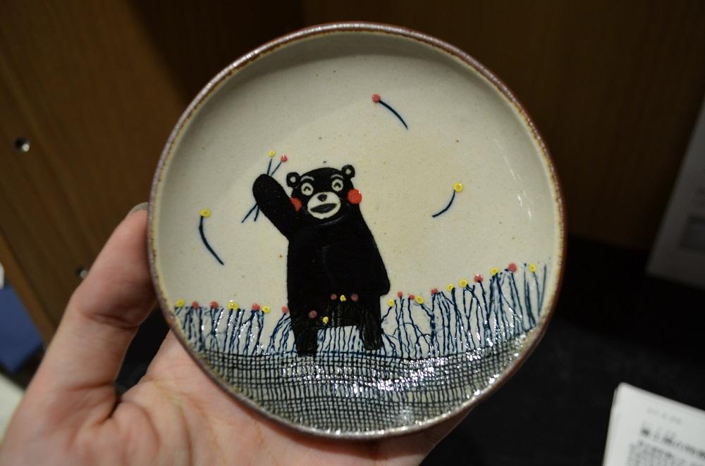 熊本/上通下通/Kumamon Square/熊本熊陶瓷盤