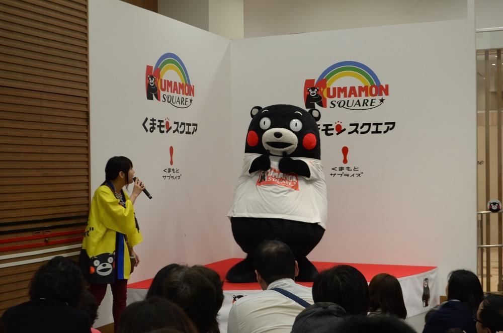 熊本/上通下通/Kumamon Square/熊本熊10週年/熊本熊跳舞