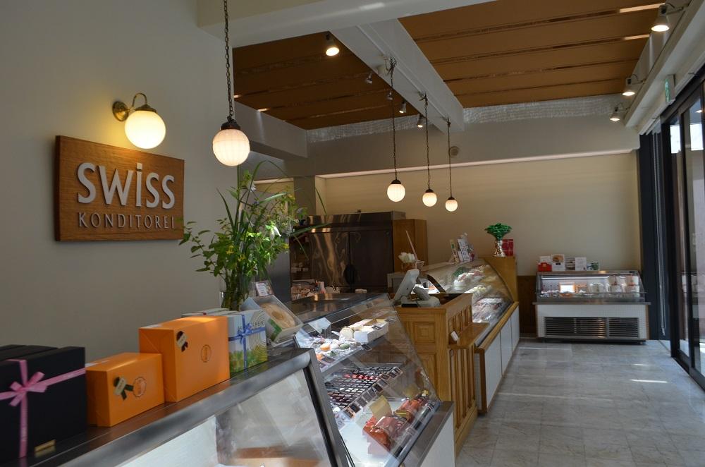 熊本/上通/熊本第一家洋菓子鋪/甜點店/SWISS