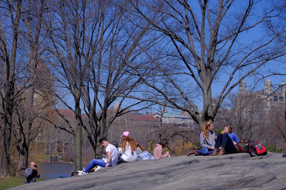 紐約/曼哈頓/中央公園/紐約後花園/早春