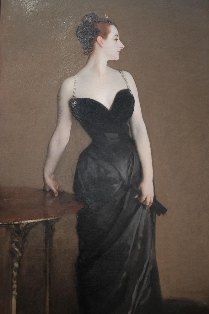 紐約/曼哈頓/大都會美術館/沙金特/X夫人肖像畫