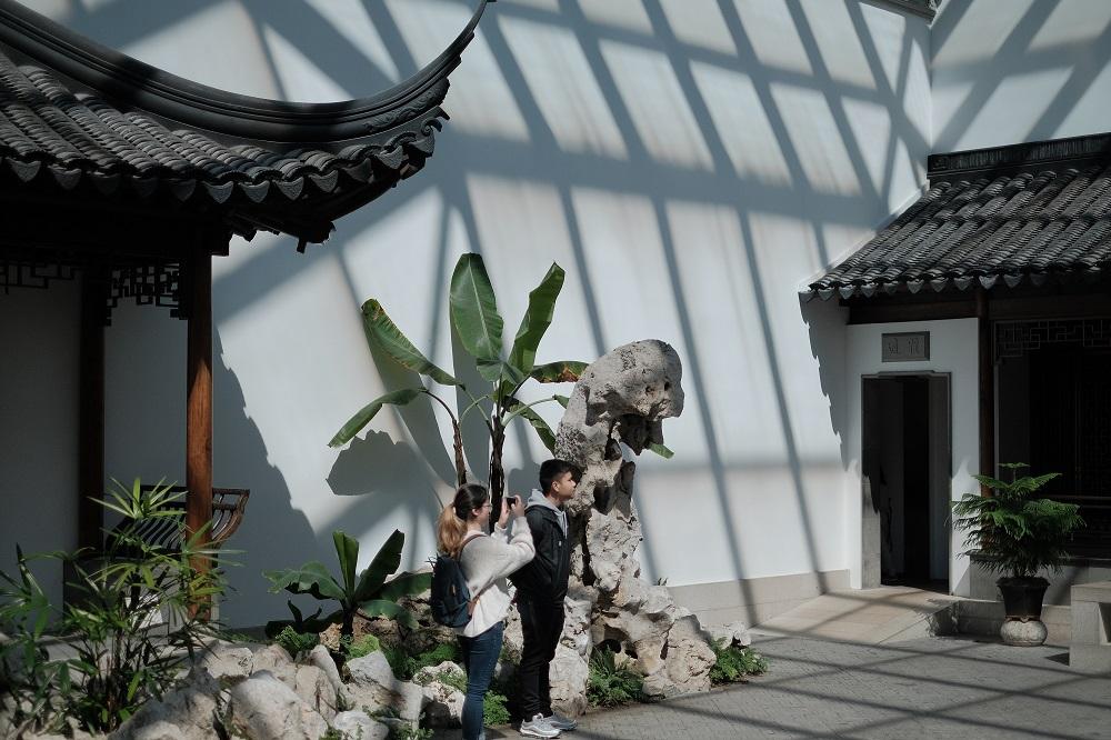 紐約/曼哈頓/大都會美術館/亞洲藝術/阿斯特中國花園