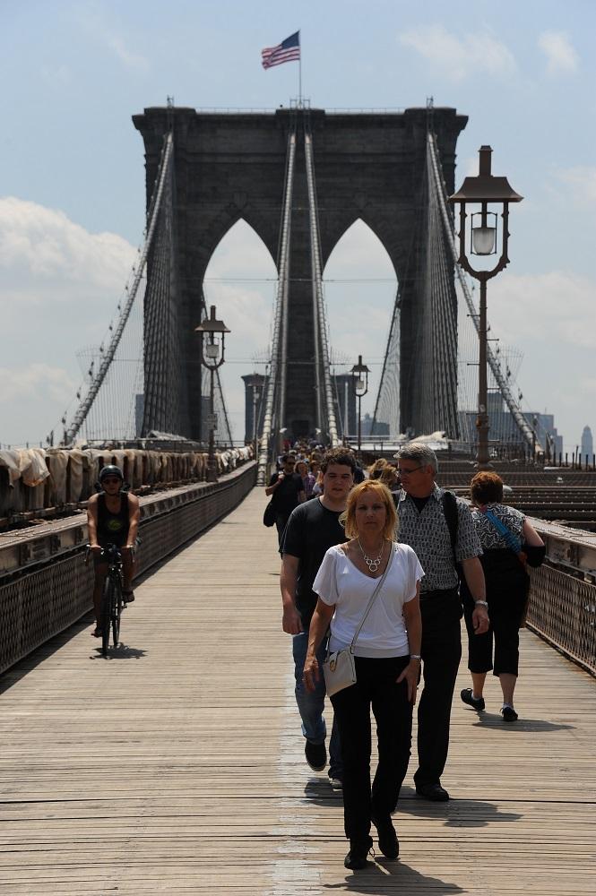 紐約/紐約地標/布魯克林大橋/世界第八大奇景