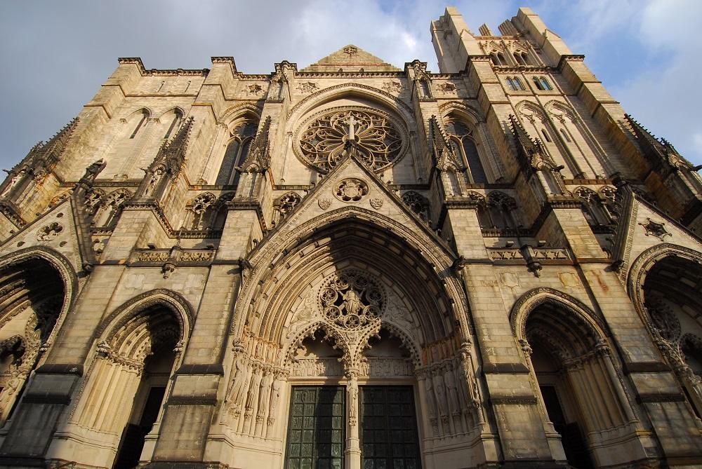 紐約/哥倫比亞大學/絕美教堂/聖約翰神明座堂/未完成的聖約翰