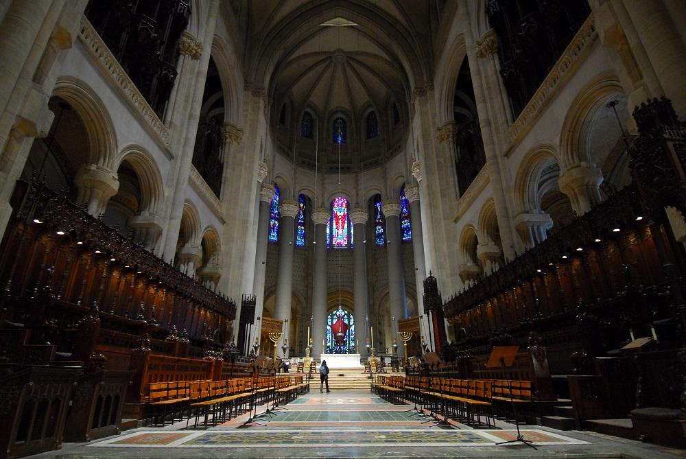 紐約/絕美教堂/聖約翰神明座堂/未完成的聖約翰/圓頂